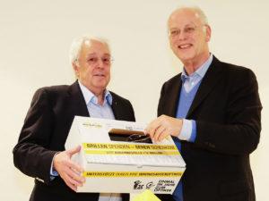 Herr Scharping und Carlo Wagner