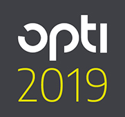 Logo der Messe OPTI 2019