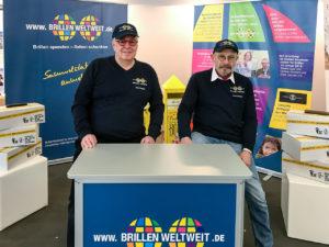 Das Team von Brillen Weltweit auf der OPTI 2019