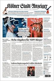 Kölner Stadtanzeiger vom 21.08.2019