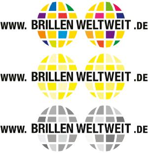 Troi versions du logo
