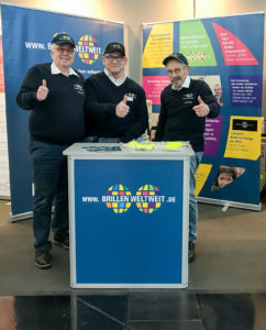 Brillen Weltweit auf der Fachmesse OPTI 2020 in München