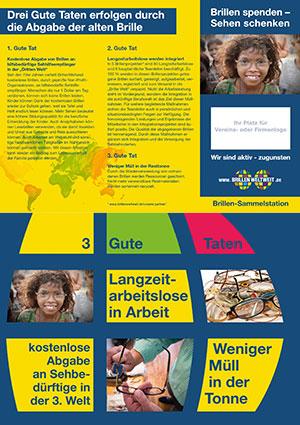 Brochure avec la place pour votre logo