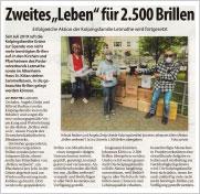 30. Mai 2020 · Stadtspiegel: Zweites Leben für 2.500 Brillen