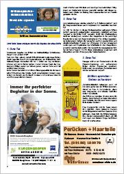 Franken-Pfalz-Kurier | Brillen spenden – Sehen schenken