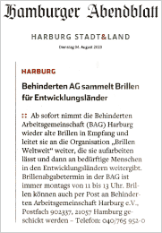 Hamburger Abendblatt vom 4. August 2020
