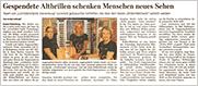 Goslarsche Zeitung vom 7. August 2020