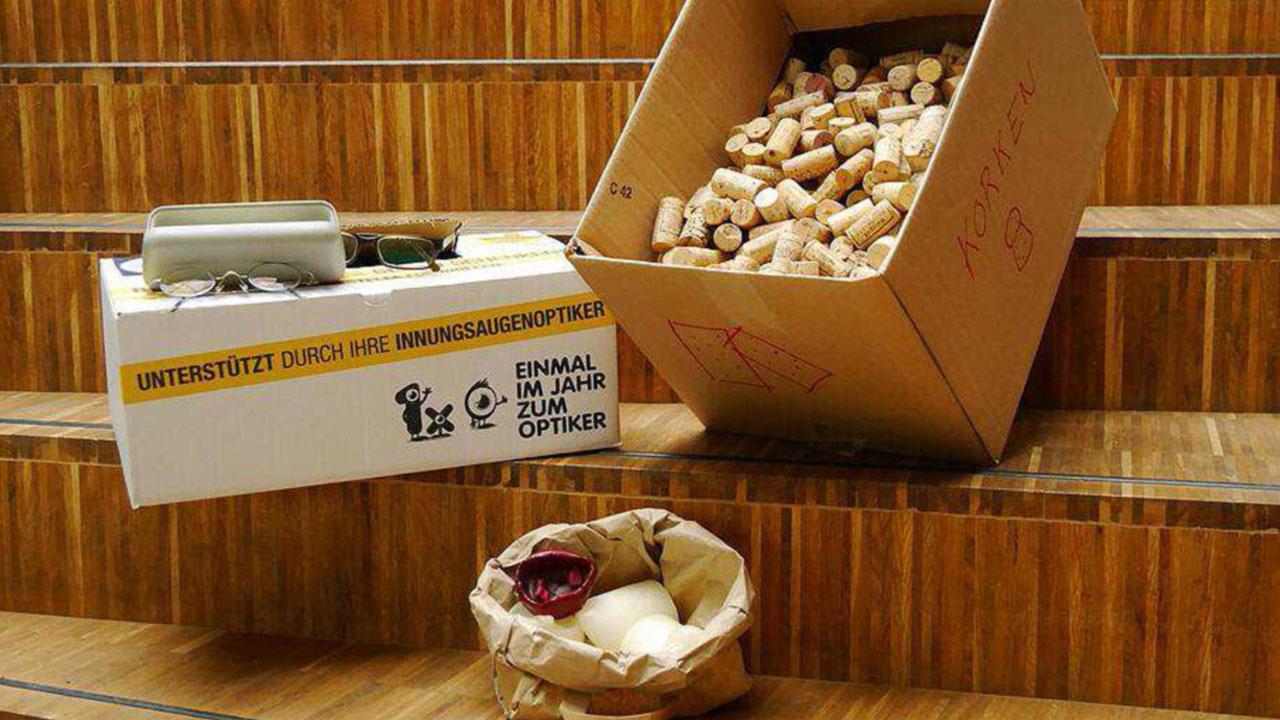 Mainpost: Umweltstation sammelt für den guten Zweck · Foto: Valentin Pfingstl