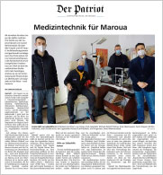 Medizintechnik für Maroua